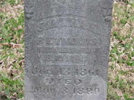 REYNOLDS, SINTHA E. - Newton County, Arkansas | SINTHA E. REYNOLDS - Arkansas Gravestone Photos