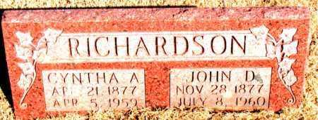 RICHARDSON, CYNTHA ARDELIA - Newton County, Arkansas | CYNTHA ARDELIA RICHARDSON - Arkansas Gravestone Photos
