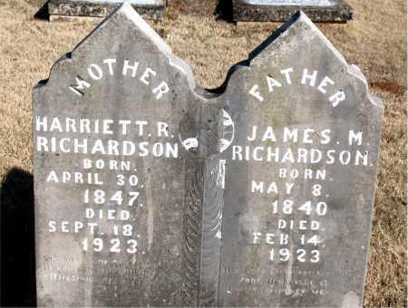 RICHARDSON, HARRIETT ROSETTA - Newton County, Arkansas | HARRIETT ROSETTA RICHARDSON - Arkansas Gravestone Photos