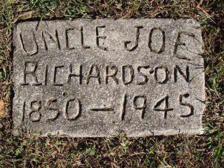 RICHARDSON, JOE - Newton County, Arkansas   JOE RICHARDSON - Arkansas Gravestone Photos