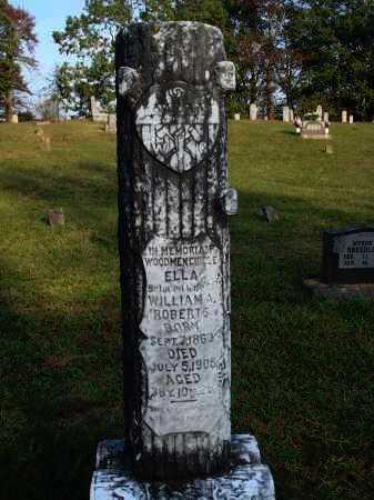 ROBERTS, ELLA - Newton County, Arkansas   ELLA ROBERTS - Arkansas Gravestone Photos