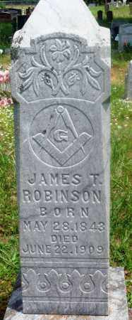 ROBINSON, JAMES T - Newton County, Arkansas | JAMES T ROBINSON - Arkansas Gravestone Photos