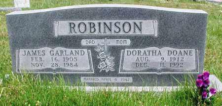 ROBINSON, JAMES GARLAND - Newton County, Arkansas | JAMES GARLAND ROBINSON - Arkansas Gravestone Photos