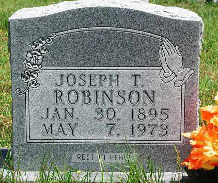 ROBINSON, JOSEPH T - Newton County, Arkansas | JOSEPH T ROBINSON - Arkansas Gravestone Photos