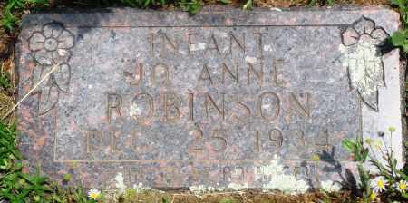 ROBINSON, JO ANNE - Newton County, Arkansas | JO ANNE ROBINSON - Arkansas Gravestone Photos