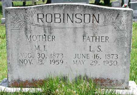 ROBINSON, MARTHA I - Newton County, Arkansas | MARTHA I ROBINSON - Arkansas Gravestone Photos