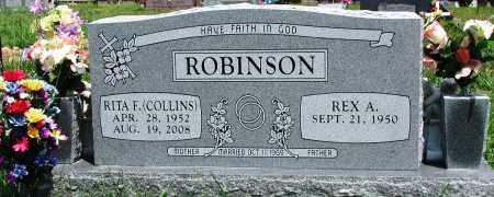 ROBINSON, RITA F - Newton County, Arkansas | RITA F ROBINSON - Arkansas Gravestone Photos