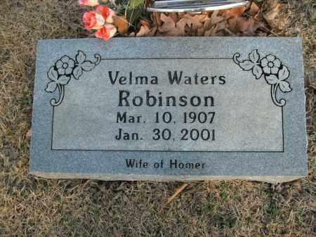 WATERS ROBINSON, VELMA - Newton County, Arkansas | VELMA WATERS ROBINSON - Arkansas Gravestone Photos