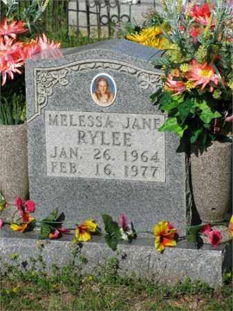 RYLEE, MELESSA JANE - Newton County, Arkansas | MELESSA JANE RYLEE - Arkansas Gravestone Photos