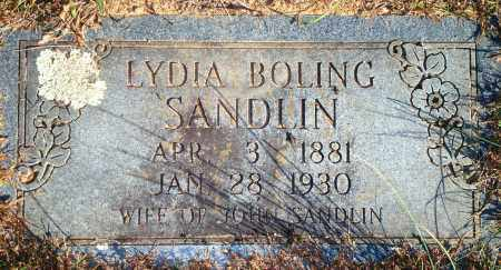 SANDLIN, LYDIA - Newton County, Arkansas | LYDIA SANDLIN - Arkansas Gravestone Photos