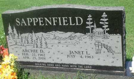 SAPPENFIELD, ARCHIE D - Newton County, Arkansas | ARCHIE D SAPPENFIELD - Arkansas Gravestone Photos