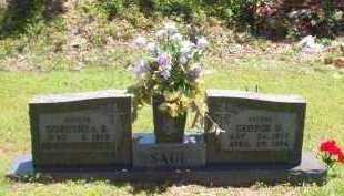 SAUL, GEORGE DONALD - Newton County, Arkansas | GEORGE DONALD SAUL - Arkansas Gravestone Photos