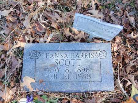 Scott Leanna Newton County Arkansas Leanna Scott Arkansas Gravestone Photos
