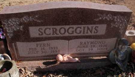 SCROGGINS, FERN - Newton County, Arkansas | FERN SCROGGINS - Arkansas Gravestone Photos
