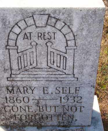 SELF, MARY E. - Newton County, Arkansas | MARY E. SELF - Arkansas Gravestone Photos