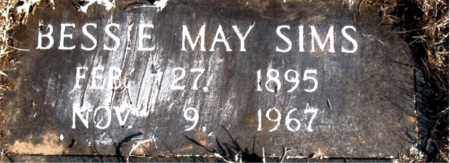 SIMS, BESSIE MAY - Newton County, Arkansas | BESSIE MAY SIMS - Arkansas Gravestone Photos
