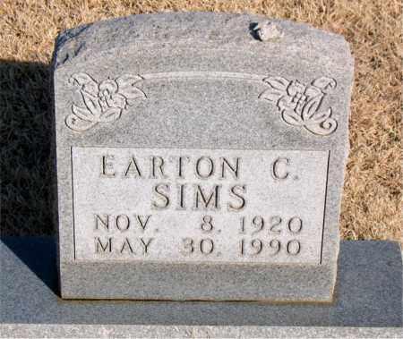 SIMS, EARTON C - Newton County, Arkansas   EARTON C SIMS - Arkansas Gravestone Photos