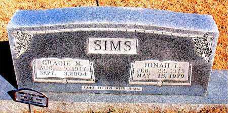 SIMS, JONAH L - Newton County, Arkansas | JONAH L SIMS - Arkansas Gravestone Photos