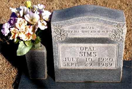 SIMS, OPAL - Newton County, Arkansas | OPAL SIMS - Arkansas Gravestone Photos