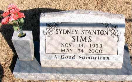 STANTON SIMS, SYDNEY - Newton County, Arkansas | SYDNEY STANTON SIMS - Arkansas Gravestone Photos
