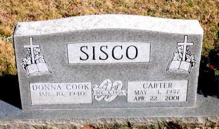 SISCO, CARTER - Newton County, Arkansas | CARTER SISCO - Arkansas Gravestone Photos
