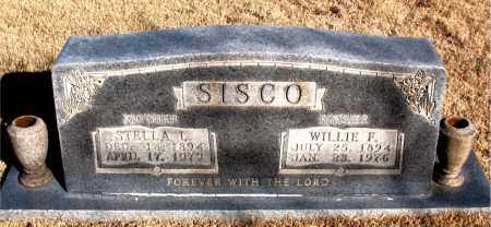 SISCO, WILLIE F. - Newton County, Arkansas | WILLIE F. SISCO - Arkansas Gravestone Photos