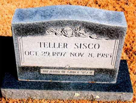 SISCO, TELLER - Newton County, Arkansas | TELLER SISCO - Arkansas Gravestone Photos