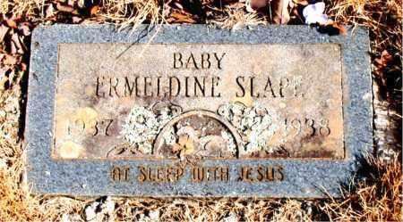 SLAPE, ERMELDINE - Newton County, Arkansas | ERMELDINE SLAPE - Arkansas Gravestone Photos