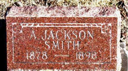 SMITH, A.  JACKSON - Newton County, Arkansas   A.  JACKSON SMITH - Arkansas Gravestone Photos