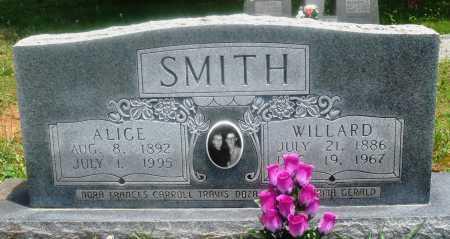 SMITH, ALICE - Newton County, Arkansas | ALICE SMITH - Arkansas Gravestone Photos