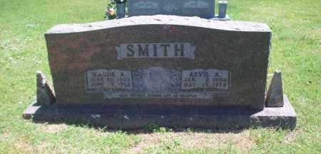 SMITH, MAUDE A - Newton County, Arkansas | MAUDE A SMITH - Arkansas Gravestone Photos