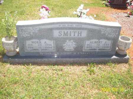 CASEY SMITH, NORA A - Newton County, Arkansas | NORA A CASEY SMITH - Arkansas Gravestone Photos
