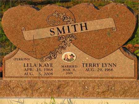 PERKINS SMITH, LELA KAYE - Newton County, Arkansas | LELA KAYE PERKINS SMITH - Arkansas Gravestone Photos