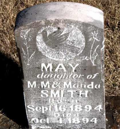 SMITH, MAY - Newton County, Arkansas | MAY SMITH - Arkansas Gravestone Photos