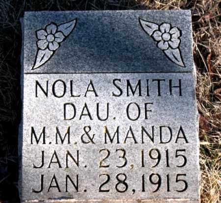SMITH, NOLA A. - Newton County, Arkansas | NOLA A. SMITH - Arkansas Gravestone Photos