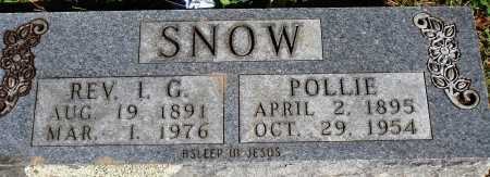 "SNOW REV, ISHAM GREEN ""ICE"" - Newton County, Arkansas 