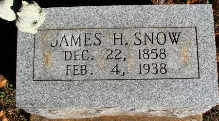 SNOW, JAMES H. - Newton County, Arkansas   JAMES H. SNOW - Arkansas Gravestone Photos