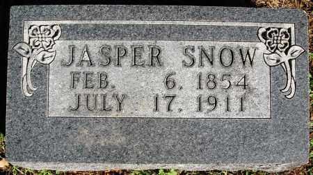 SNOW, JASPER - Newton County, Arkansas   JASPER SNOW - Arkansas Gravestone Photos