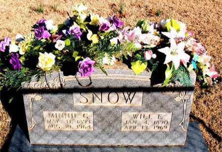 SNOW, MINNIE GRACE - Newton County, Arkansas | MINNIE GRACE SNOW - Arkansas Gravestone Photos