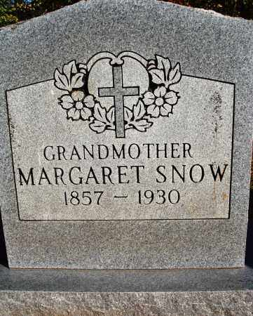 SNOW, MARGARET - Newton County, Arkansas   MARGARET SNOW - Arkansas Gravestone Photos
