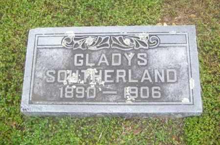 SOUTHERLAND, GLADYS - Newton County, Arkansas | GLADYS SOUTHERLAND - Arkansas Gravestone Photos