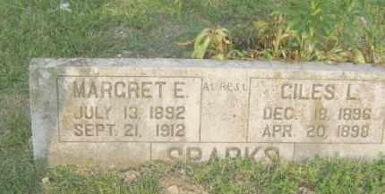 SPARKS, MARGARET E. - Newton County, Arkansas | MARGARET E. SPARKS - Arkansas Gravestone Photos