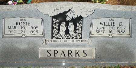 SPARKS, WILLIE D. - Newton County, Arkansas   WILLIE D. SPARKS - Arkansas Gravestone Photos