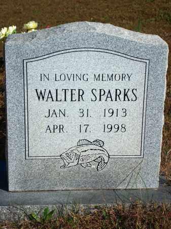 SPARKS, WALTER - Newton County, Arkansas | WALTER SPARKS - Arkansas Gravestone Photos