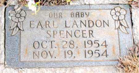 SPENCER, EARL LANDON - Newton County, Arkansas | EARL LANDON SPENCER - Arkansas Gravestone Photos