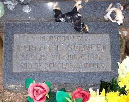 SPENCER, VERLON L. - Newton County, Arkansas | VERLON L. SPENCER - Arkansas Gravestone Photos