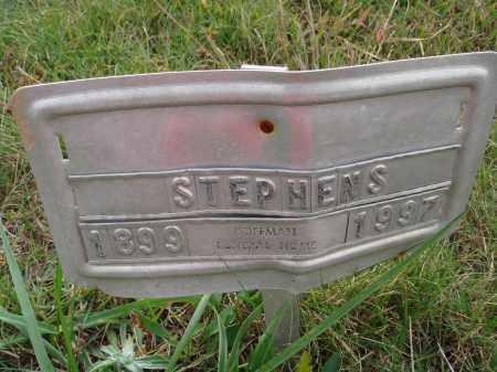STEPHENS, UNKNOWN - Newton County, Arkansas | UNKNOWN STEPHENS - Arkansas Gravestone Photos