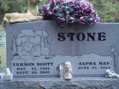 STONE, VERNON SCOTT - Newton County, Arkansas   VERNON SCOTT STONE - Arkansas Gravestone Photos