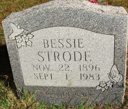 STRODE, BESSIE - Newton County, Arkansas   BESSIE STRODE - Arkansas Gravestone Photos