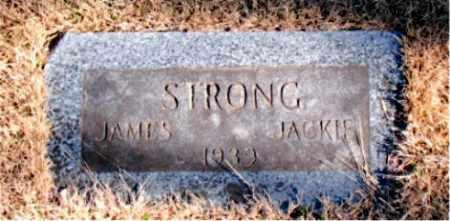 STRONG, JAMES - Newton County, Arkansas | JAMES STRONG - Arkansas Gravestone Photos